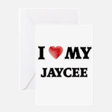 I love my Jaycee Greeting Cards