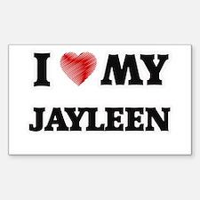 I love my Jayleen Decal