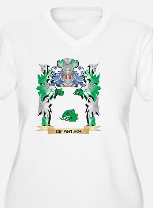 Quarles Coat of Arms - Family Cr Plus Size T-Shirt