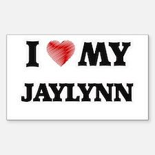I love my Jaylynn Decal