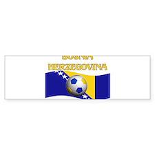 TEAM BOSNIA HERZEGOVINA WORLD Bumper Bumper Sticker