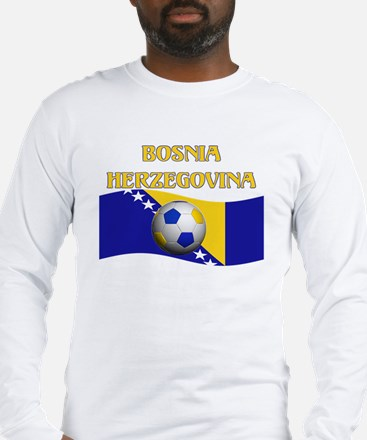 TEAM BOSNIA HERZEGOVINA WORLD Long Sleeve T-Shirt