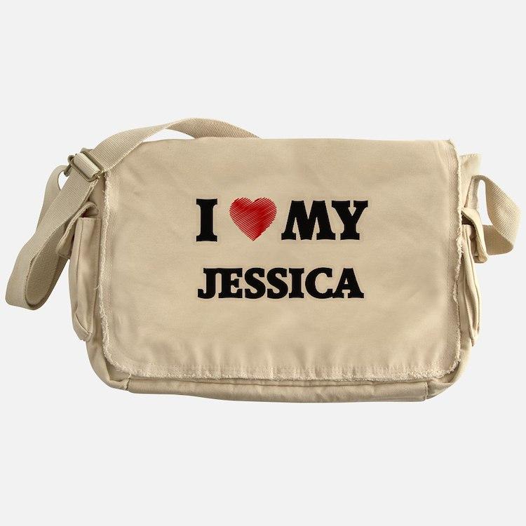 I love my Jessica Messenger Bag