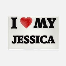 I love my Jessica Magnets