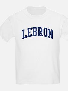 LEBRON design (blue) T-Shirt