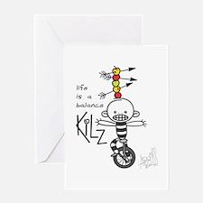 kilz Greeting Cards