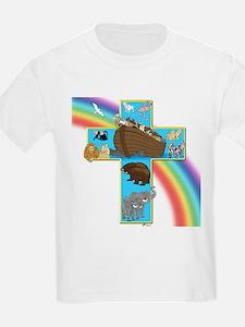 Blue Noah's Cross Kids T-Shirt