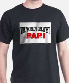 """The World's Greatest Papi"" Ash Grey T-Shirt"