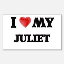 I love my Juliet Decal