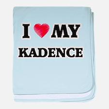 I love my Kadence baby blanket