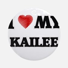 I love my Kailee Round Ornament