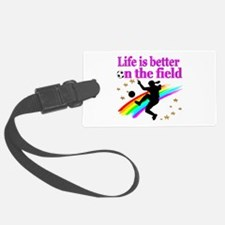 SOCCER PLAYER Luggage Tag