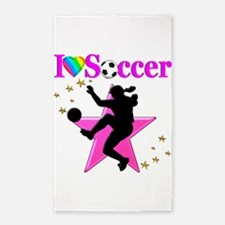 SOCCER PLAYER Area Rug