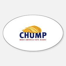 Chump_America_Again_blue Decal