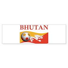 TEAM BHUTAN WORLD CUP Bumper Bumper Sticker