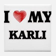 I love my Karli Tile Coaster