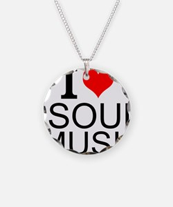 I Love Soul Music Necklace