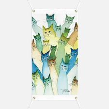 Cute Cat art Banner