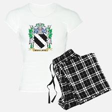 Radcliffe Coat of Arms - Fa Pajamas