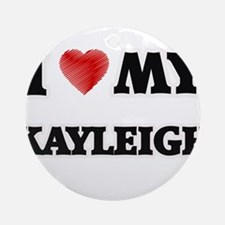 I love my Kayleigh Round Ornament