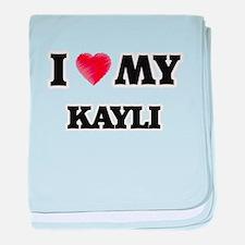 I love my Kayli baby blanket