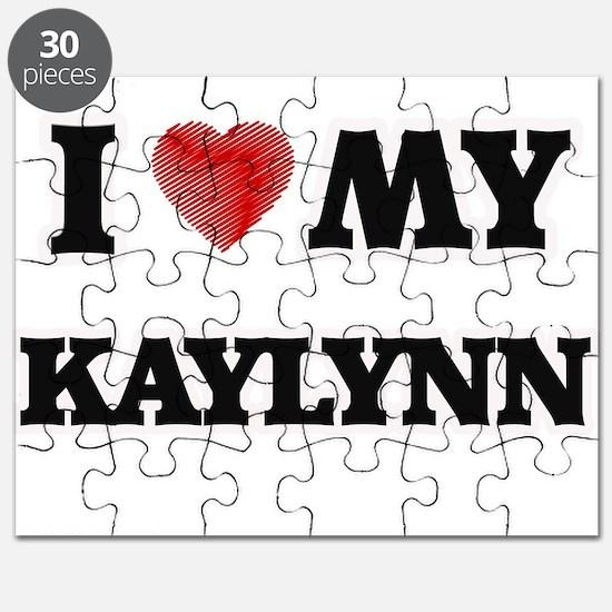 I love my Kaylynn Puzzle