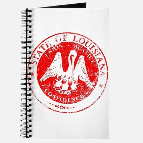 Louisiana Seal Stamp Journal