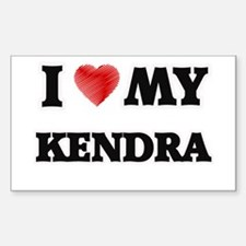 I love my Kendra Decal