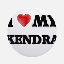 I love my Kendra Round Ornament