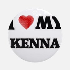 I love my Kenna Round Ornament