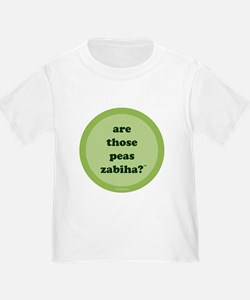 Zabiha Peas Kids T-Shirt (light green) T-Shirt