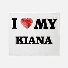 I love my Kiana Throw Blanket