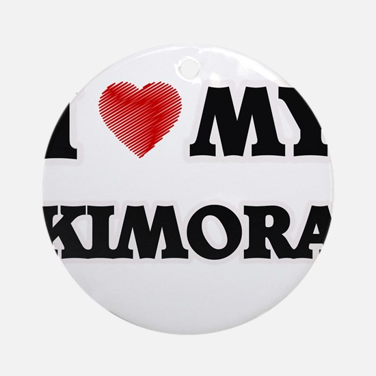 I love my Kimora Round Ornament