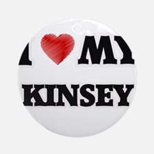 I love my Kinsey Round Ornament