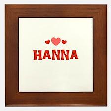 Hanna Framed Tile