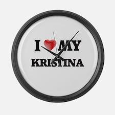 I love my Kristina Large Wall Clock