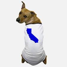 Cool California map Dog T-Shirt