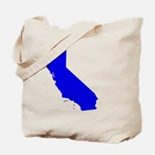Cute California blue Tote Bag