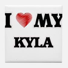 I love my Kyla Tile Coaster