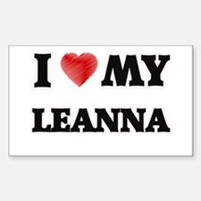 I love my Leanna Decal