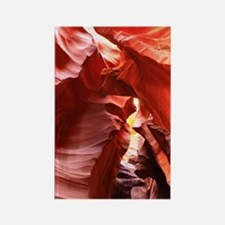 Funny Antelope canyon Rectangle Magnet