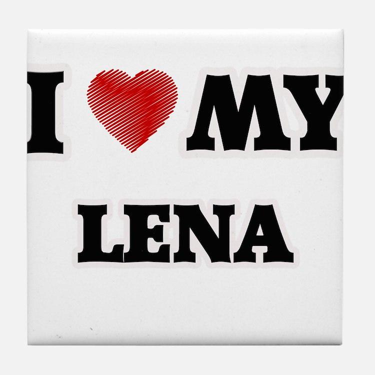 I love my Lena Tile Coaster