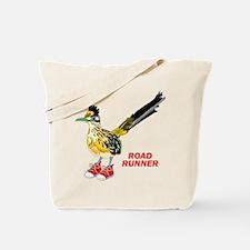 Road Runner in Sneakers Tote Bag