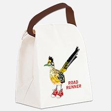 Road Runner in Sneakers Canvas Lunch Bag