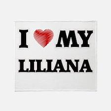 I love my Liliana Throw Blanket