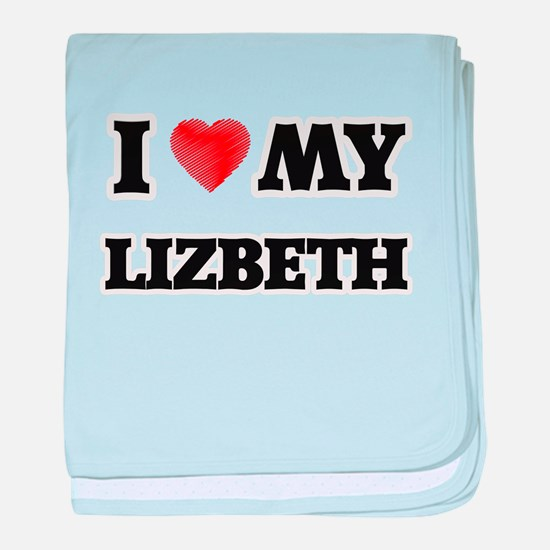 I love my Lizbeth baby blanket