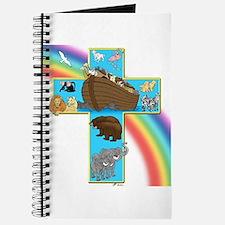 Blue Noah's Cross Journal