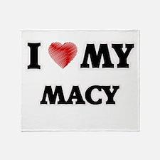 I love my Macy Throw Blanket