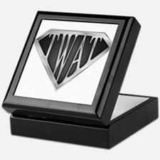 SuperTwat(metal) Keepsake Box