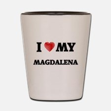 I love my Magdalena Shot Glass